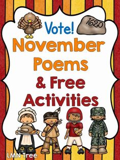 LMN Tree: November Poems and Free Activities