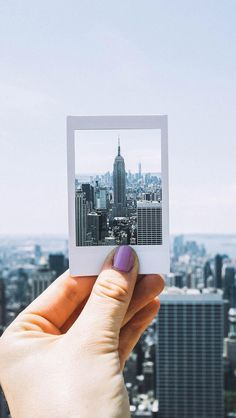 Legendary city, legendary camera #Polaroid
