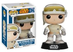 Funko POP Star Wars : Hoth Luke Skywalker. Barnes & Noble. Purchased August 14, 2014. $8.95. Went on a shopping frenzy for these Star Wars Funko POP vinyl bobble heads. - Liz