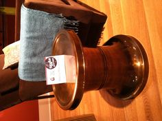 A spot for a drink provided by @Baker Furniture Soren Spot Table in a nice muted brass @styledpotter @hpmkt