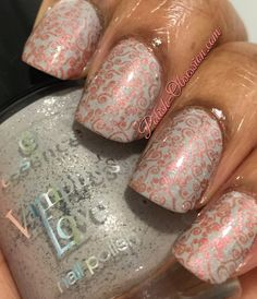 #Essence The Dawn is Broken with stamping from #UberChic 2-01 plate