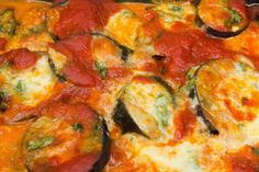 El Baúl de las delicias: Berenjenas al a napolitana Quiche, Breakfast, Recipes, Food, Baked Vegetables, Salads, Kitchen Stuff, Pain Au Chocolat, Tasty