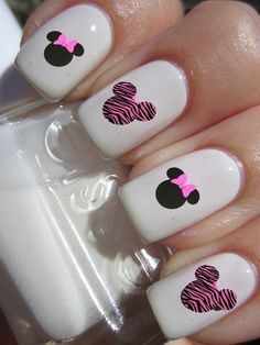 GroopDealz | Mixed Print Nail Decals - 10 Styles! #naildecals #mickymouse #groopdealz