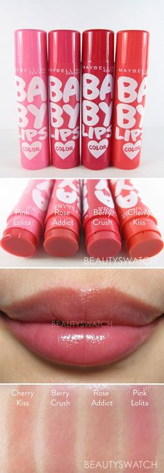TINTED LIP BALM :: Maybelline Baby Lips I have rose addict and I absolutely love it!
