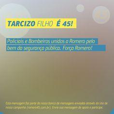 #MensagemPorAmorACampina enviada através do site http://romero45.com.br/ Obrigado pela força Tarcizo.