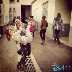 Photo: Rydel Lynch Having Fun With Laura Marano December 12, 2014