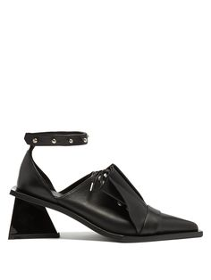 afda92ee9a3 Click here to buy Marques Almeida Frill leather lace-up pumps at  MATCHESFASHION.