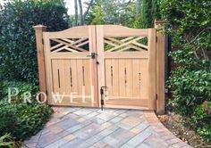 Premier Colonial Garden Gate #23