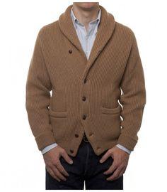 Natural Four Ply Baby Camel Hair Shawl Collar Cardigan Baby Camel, Luxury Ties, Shawl Collar Cardigan, Men's Sweaters, Gentleman, Knitwear, Men's Fashion, Elegant, Knitting
