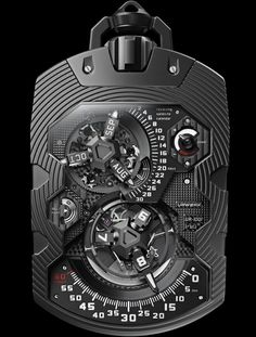 The UR-1001 Zeit Device is an über complication both measuring and quantifying our era, from a solitary second all the way to a monumental 1,000 years.