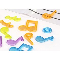 Cookie Cutters, Office Supplies, Instruments, Products, Music Notes, Mesas De Luz, Crates, Colors, Beats