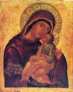 Ikoon van de Moeder Gods Eleousa