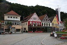 Bad Berneck im Fichtelgebirge, Germany