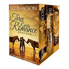 #1 Amazon Bestselling Author This Christian western romance boxed set contains the first three novels in the Three Rivers Ranch Romance series – Second Chance Ranch: A Three Rivers Ranch Romance (Book 1): After his deployment, injured and discharged Major Squire Ackerman returns to Three Rivers Ranch, wanting to forgive Kelly for ignoring him a decade ago. He'd like to provide the stable life she needs, but with old wounds opening and a ranch on the brink of financial collapse, will Squire…