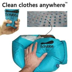 The Scrubba (portable washing machine) | 10 Cool Tech Gadgets For Travel That You Can Purchase