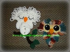Ravelry: Cute Hoot Applique pattern by Tera Kulling Owl Crochet Patterns, Crochet Owls, Cute Crochet, Wooden Crochet Hooks, Crocodile Stitch, Yarn Sizes, Knitting For Kids, Stuffed Animal Patterns, Ravelry