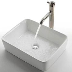 Sinks That Sit On Top Of Counter : could totally see this sitting on top of my glass bathroom countertop ...
