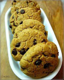 Limara péksége: Mogyoróvajas csokis keksz Lime, Cookies, Sweet, Desserts, Bakery, Food, Pies, Crack Crackers, Candy