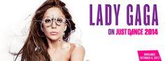 Lady Gaga on Just Dance 2014.