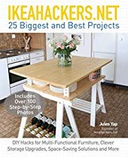 NET 25 Biggest and Best Projects DIY Hacks for Multi-Functional Furniture, Clever Storage Upgrades, Space-Saving Solutions and More by Jules Yap and Publisher Ulysses Press. Ikea Hacks, Diy Hacks, Ikea Pax Hack, Multifunctional Furniture, Ikea Furniture, Design Furniture, Bedroom Furniture, Smart Furniture, Furniture Dolly