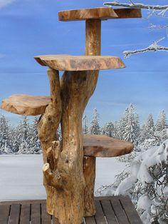 Handarbeit Baumstamm Wurzel Kaffeebaum Katzenbaum Bumenständer UNIKAT 87cm Nr.4 | eBay