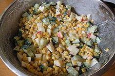 Mais - Apfel - Gurken - Salat