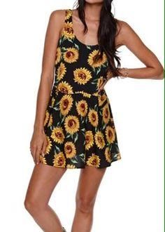 Sunflower dress (lekker 90's ;-)...)