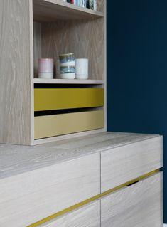 Nyfelt og Strand Interiørarkitekter, enebolig Tønsberg, spesialinnredning Home Decor, Decor, Shelves, News Studio