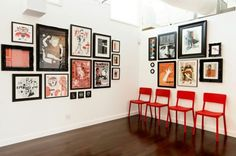 23 Great Examples Of At-Home Gallery Walls | Airows