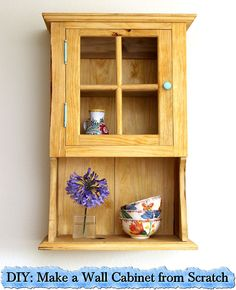 DIY: Make a Wall Cabinet from Scratch