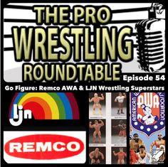 fter many, many months of Richard briefly mentioning wrestling action figures, John has finally given in and let Richard and Jonathan loose as they begin the first discussion of many. This episode will focus on the genesis of wrestling figures the AWA Remco Line & the LJN Wrestling Superstars. Richard and Jonathan also give a brief discussion of their wrestling figure collecting origins. For the main subject we are joined by the voice of Ring Of Honor Ian Riccaboni and listen to his amazi...