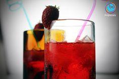 Strawberry drink!!! Thanks #boglasses...