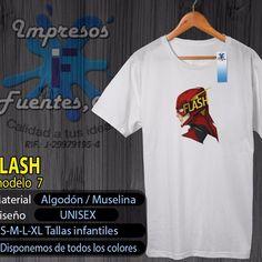 #flash #heroe #diseño #dccomics #dcuniverse #franelas #estampados #diseños #personalizadas  #valencia #algodon #muselina