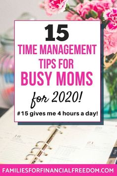 Get the best time management tips for moms! Find simple time management tips for work and time management tips for creating daily schedules. Learn time management tips to help you stay focused and to stop procrastinating! Time management tips for getting things done, for business, for successful people, and for woman! Time management tips for productivity! Time management motivation! #timemanagement #time #productivitytips #productivity #newyear #productive #hacks #savingtime…