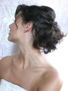 vintage wedding hair updo
