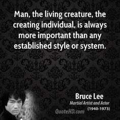 Bruce Lee Quote ༺♥༻