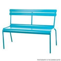 The Bistro Store  - Fermob Luxembourg Bench, $685.00 (http://www.thebistrostore.com/fermob-luxembourg-bench/)