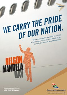 Proudly South African, and proud to be part of a nation that celebrates Nelson Mandela's legacy. How did you celebrate?