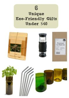 6 Unique Eco-Friendly Gifts Under $40