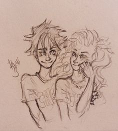 A little more Percabeth.. | by @rohinicupcake