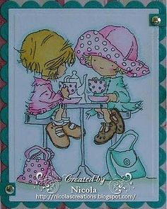 Girlfriends - Lili of the Valley Stamp