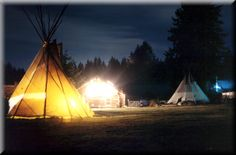 Stay in a Teepee on Vashon Island, WA. I stayed here for several weeks many years ago and LOVED it!!!
