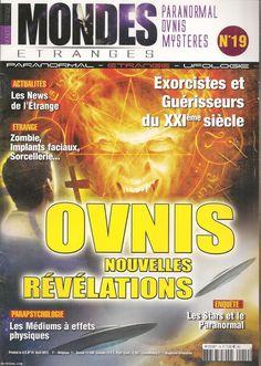 Mondes étranges N°19 - OVNIS nouvelles révélations - année 2013