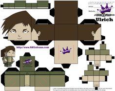 Free Cubeecraft of Ulrich from Code Lyoko   SKGaleana
