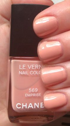 Chanel Emprise: one of the colors from the new Chanel 2013 Spring Couture Nail Polish Collection
