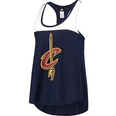 Cleveland Cavaliers adidas Women's Colorblock Tank Top - Navy - $35.99