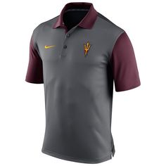Men's Nike Arizona State Sun Devils Preseason Dri-FIT Performance Polo, Size: