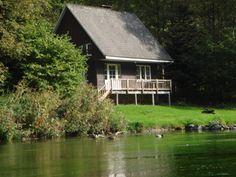 """Holiday Cottage """"Chalets Jacques Poncelet"""" in Alle-sur-Semois (Vresse-sur-Semois), Namur Ardennes, South Belgium."""