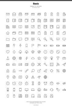 Linea: an awesome free icon set: http://www.webdesignblog.co/linea-free-icon-set/