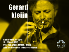 Since 1995, jazz trumpeter Gerard Kleijn has led a very wide variety of his own groups and has made 10 CDs as bandleader, all very well received by press and audiences.